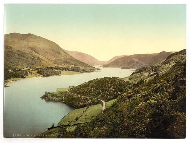[Helvellyn and Thirlmere, Lake District, England]