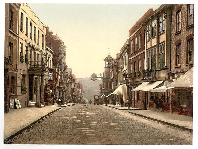 [High Street, Guildford, England]
