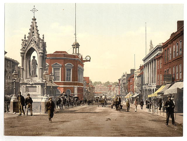 [High Street, Maidstone, England]