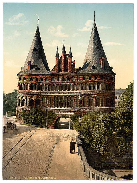 [Holstengate, Lubeck, Germany]