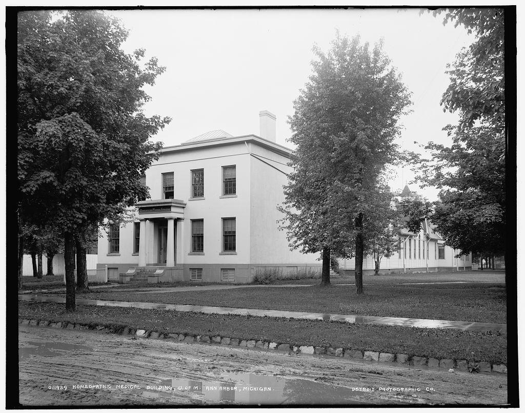 Homeopathic medical building, U. of M., Ann Arbor, Michigan