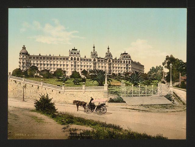 [Hotel Excelsior, Regina Palace, Cimiez, Nice, France]