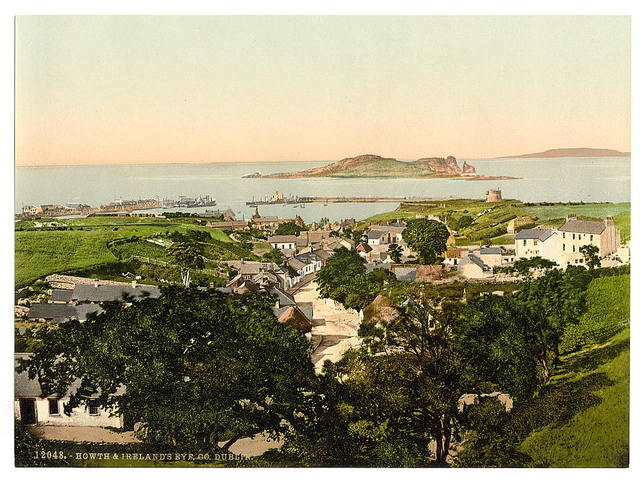 [Howth and Ireland's Eye. County Dublin, Ireland]