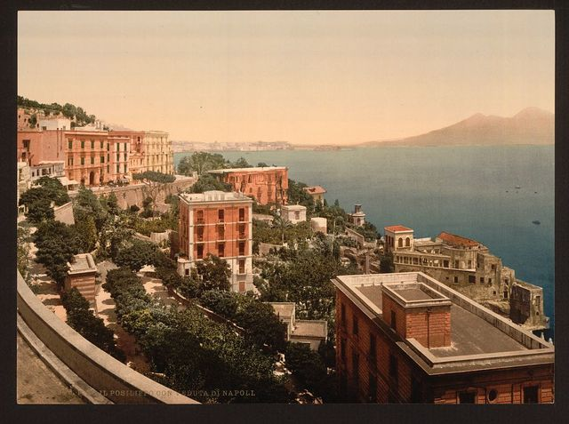 [Il Posilippo and waterfront, Naples, Italy]