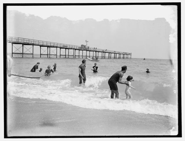 [In the surf, probably Atlantic City]