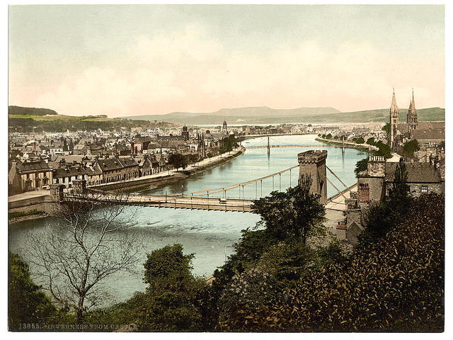 [Inverness from castle, Scotland]