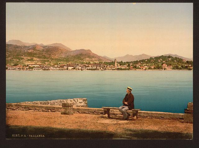 [Isola Pallanza, Lake Maggiore, Italy]