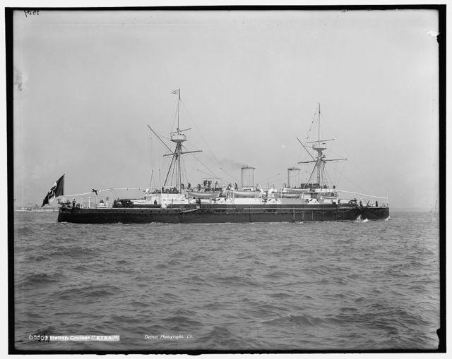 Italian cruiser Etna