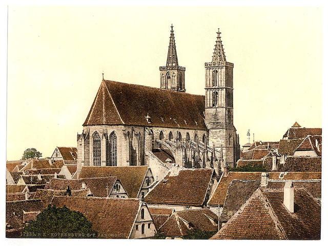 [Jacob's Church (St. Jacob's Church), Rothenburg (i.e. ob der Tauber), Bavaria, Germany]