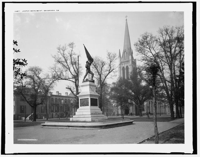 Jasper Monument, Savannah, Ga.