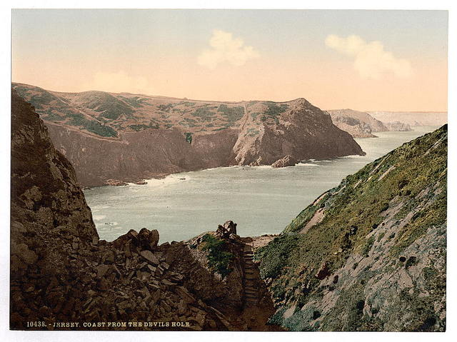 [Jersey, coast from the Devil's Hole, Channel Islands]