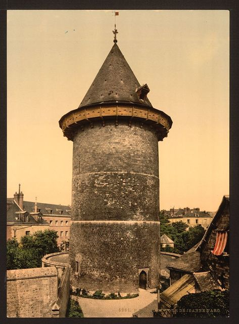[Joan of Arc's Tower, Rouen, France]