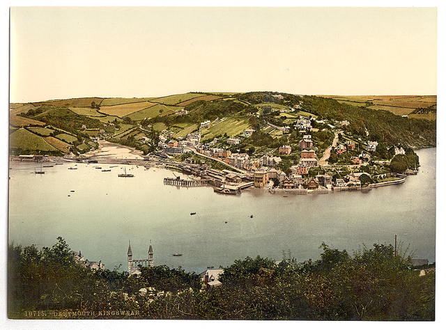 [Kingswear, Dartmouth, England]
