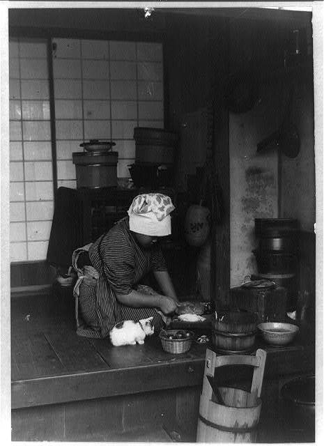 Kitchen of a Japanese house