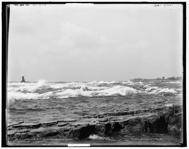 Lachine rapids, St. Lawrence River