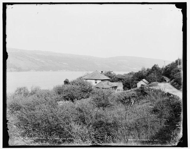 Lake Skaneateles, N.Y., three mile point