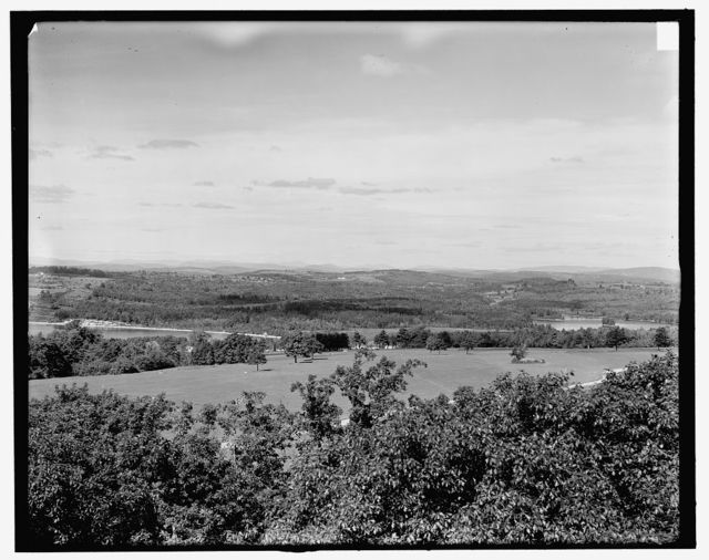 [Lake Winnipesaukee, N.H., Great Asquam [i.e. Squam] from Shepard Hill]