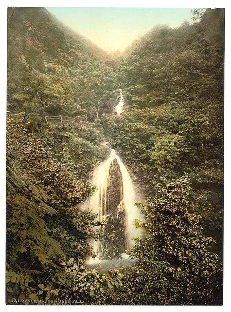[Laxey, Doon Glen Waterfall, Isle of Man]