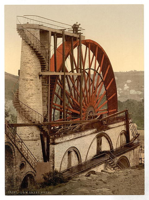 [Laxey, the Wheel, Isle of Man]