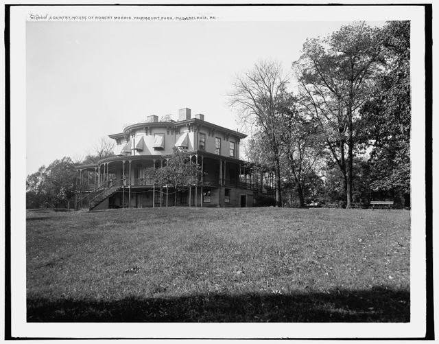 Lemon Hill, country house of Robert Morris [sic], Fairmount Park, Philadelphia