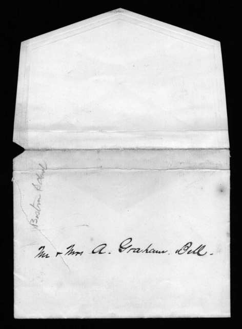 Letter from Abby Locke Stone to Alexander Graham Bell, August 24, 1890