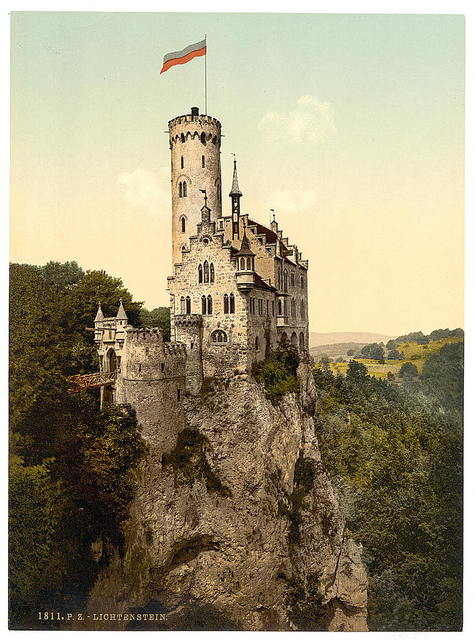 [Lichtenstein Castle, Wurtemburg, Germany]
