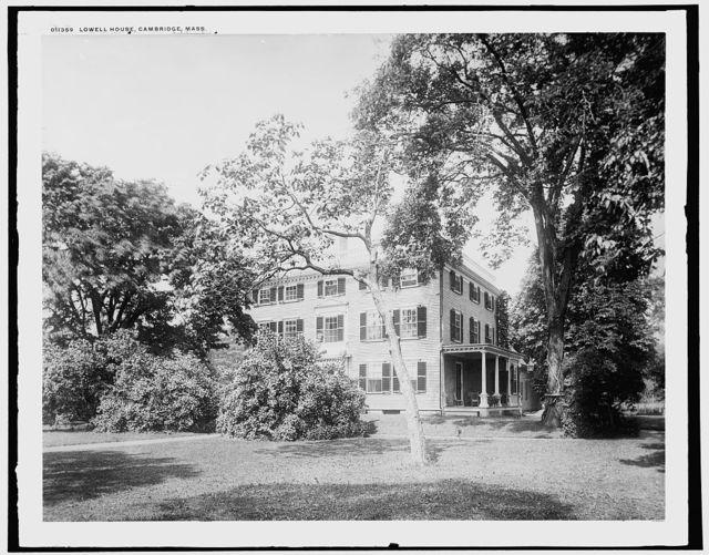Lowell House, Cambridge, Mass.