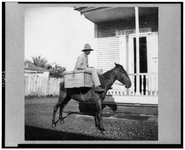 [Mail carrier, Puerto Rico]