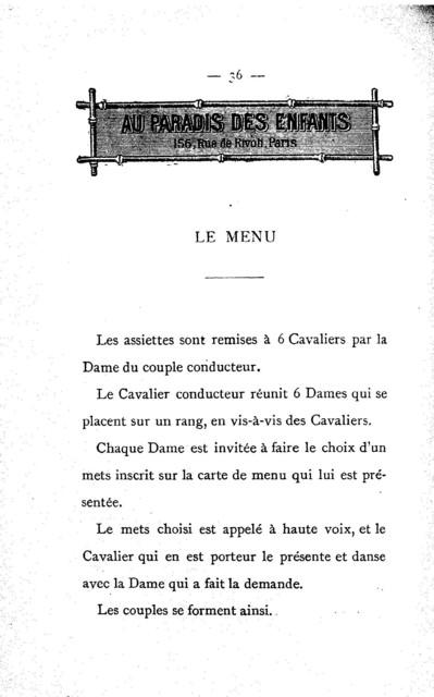 Manuel du cotillon