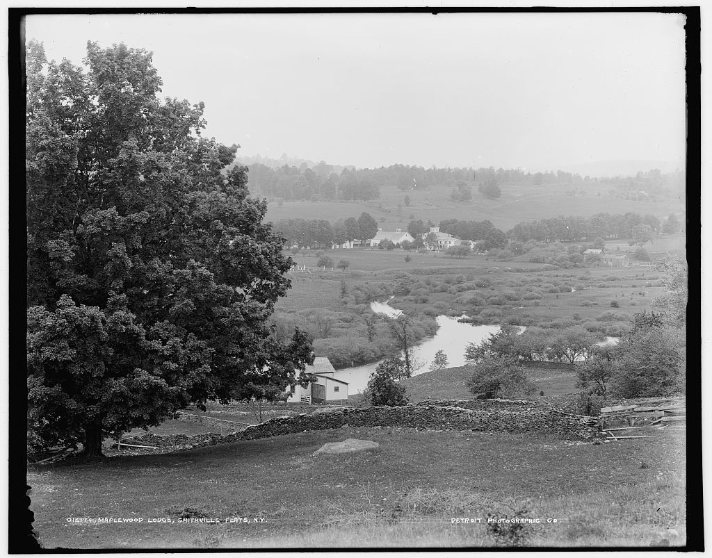 Maplewood Lodge, Smithville flats, N.Y.