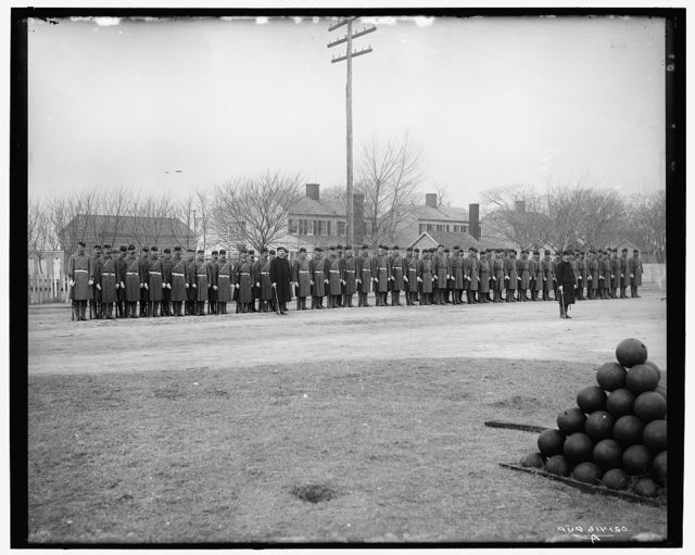 Marine Guard, War College at Coasters Harbor, Newport