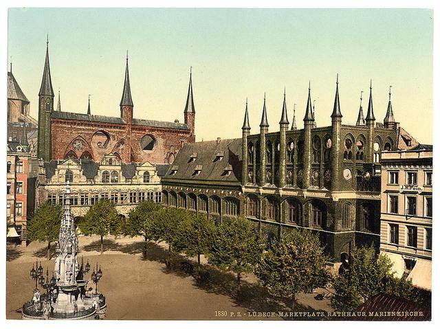 [Market Place I., Lubeck, Germany]