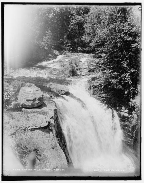 Marshall Falls, Marshall Creek, Pa.