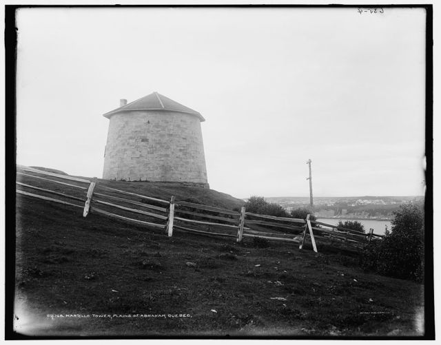 Martello tower, Plains of Abraham, Quebec