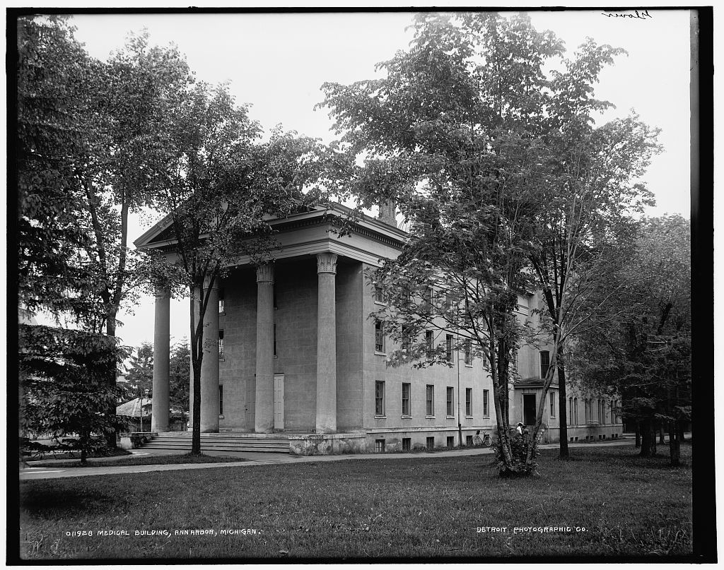 Medical building, U. of M. [University of Michigan], Ann Arbor, Michigan