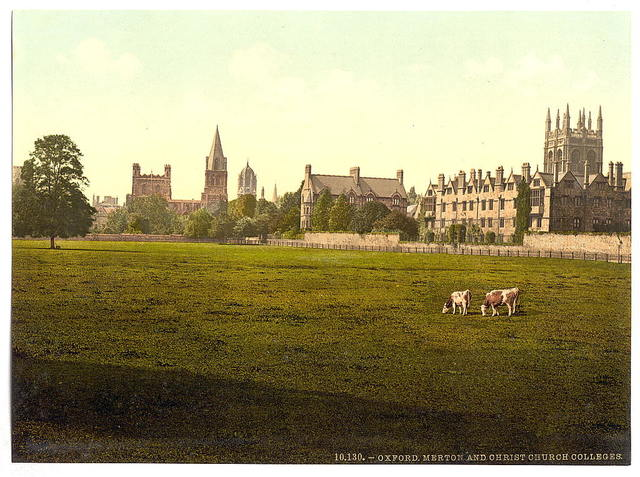 [Merton and Christ Church College, Oxford, England]