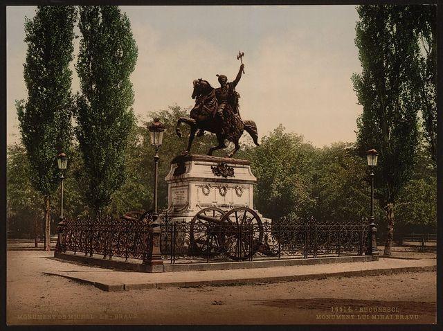 [Michaiwoda Memorial, Bukharest, Roumania]