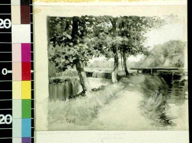 Mill race, Wissahickon