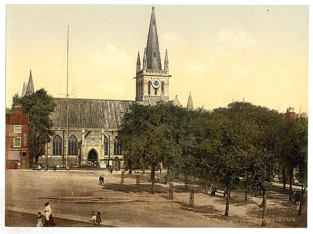 [Minster Church of St Nicholas in Great Yarmouth, Norfolk, England]