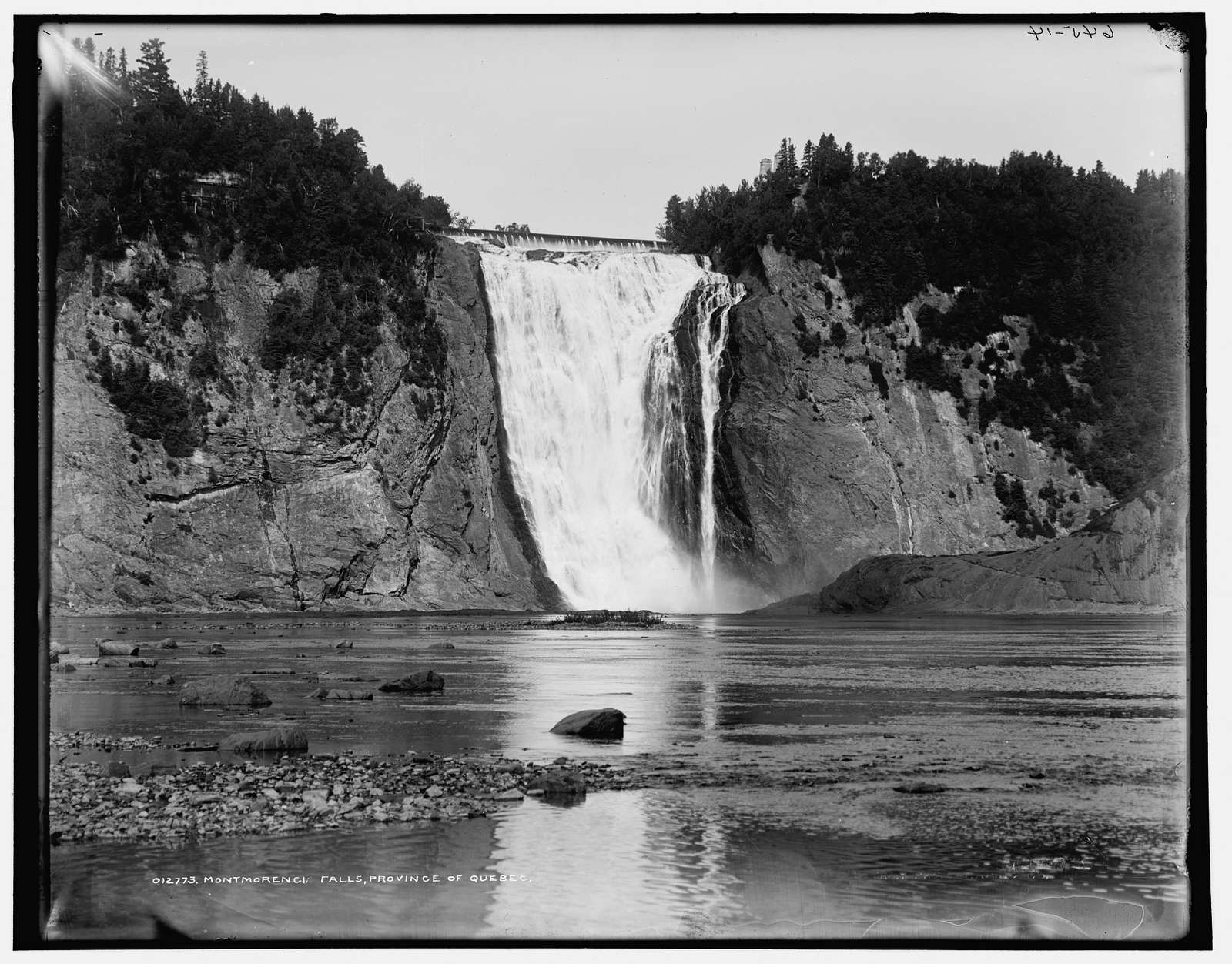 Montmorency Falls, Province of Quebec