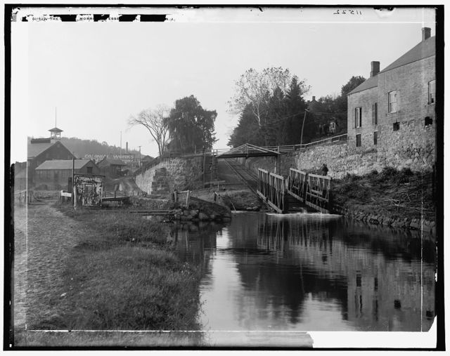 Morris and Essex canal, Boonton, N.J.