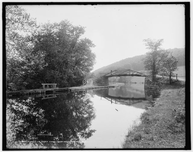 Morris and Essex Canal near Hackettstown, N.J.