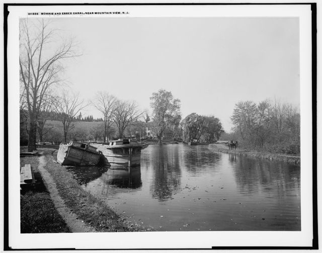 Morris and Essex Canal, N.J., near Mountain View