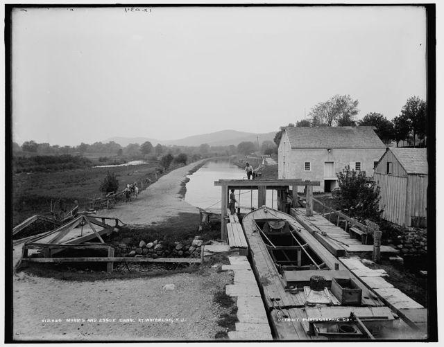 Morris and Essex Canal, Waterloo, N.J.