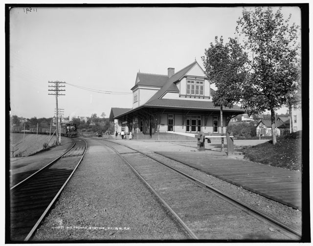 Mt. Pocono station, D.L. & W.R.R.