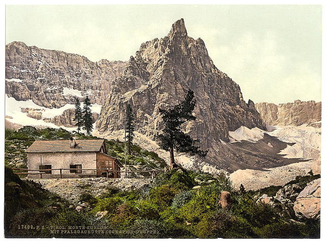 [Mt. Surlon and lake, Tyrol, Austro-Hungary]