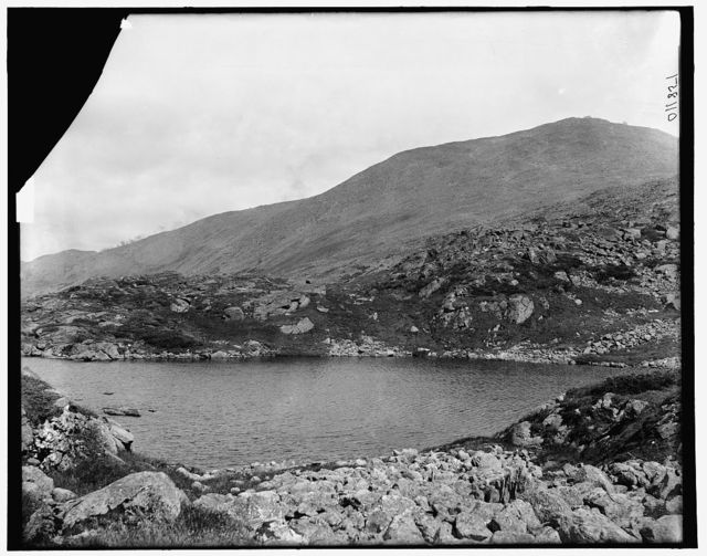 [Mt. Washington, Lake of the Clouds and summit, Presidential Range, White Mountains, New Hampshire]