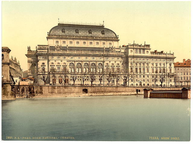 [National Theatre, Prague, Bohemia, Austro-Hungary]