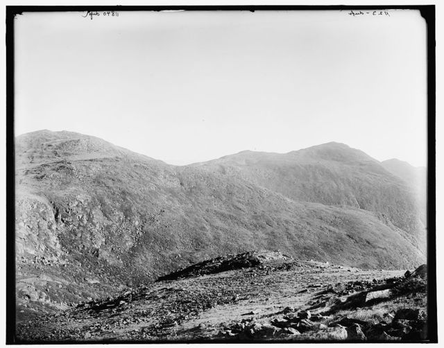 [Northern peaks from Mt. Clay, Presidential Range, White Mountains, New Hampshire]