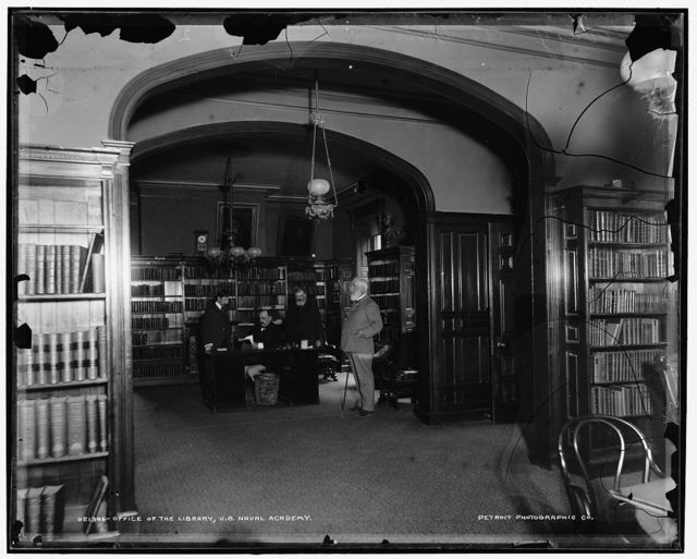 Office of the library, U.S. Naval Academy